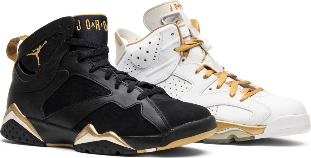 "Air Jordan 6/7 Pack ""Gold Medal"""