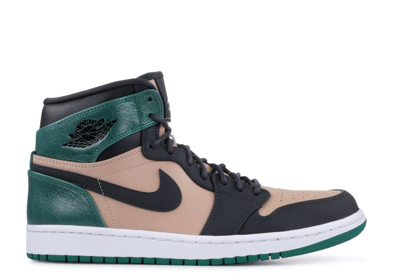 Jordan 1 High Bio Beige Anthracite Mystic Green (W)