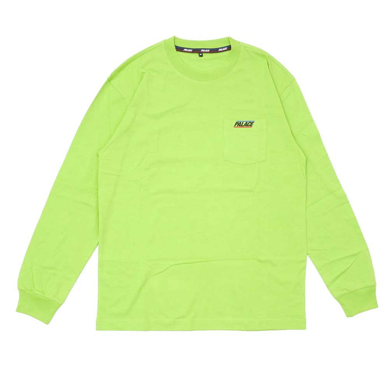 Palace Long sleeve Tee - Lime Green