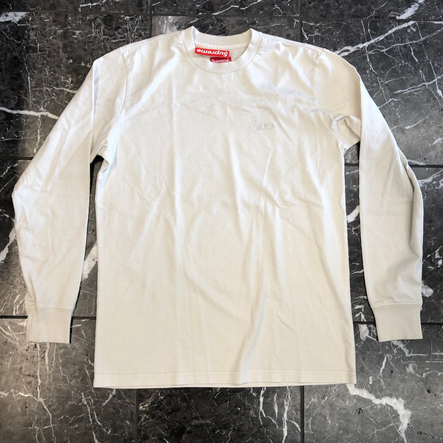 Supreme Overdyed Tee L/S Top FW16