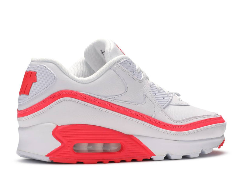 Nike Air Max 90 Undefeated White Solar Red