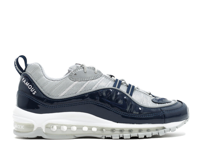 "Nike Air Max 98 ""Supreme"" -navy/silver"