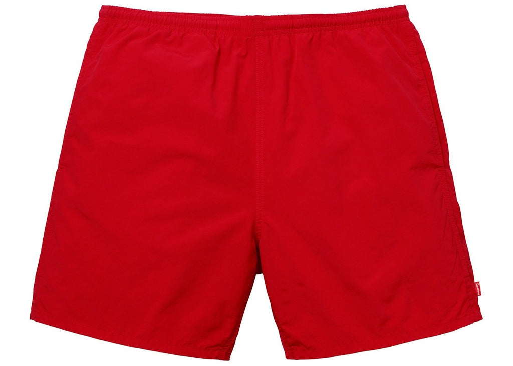 Supreme Arc Water Shorts -red ss18