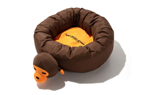 A BATHING APE- Baby Milo Plush Doll Pet Bed
