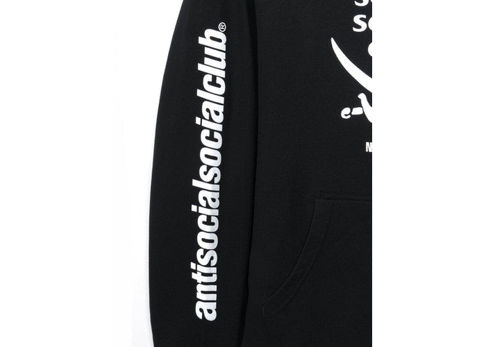 Anti Social Social Club x Neighborhood 6IX Black Hoodie