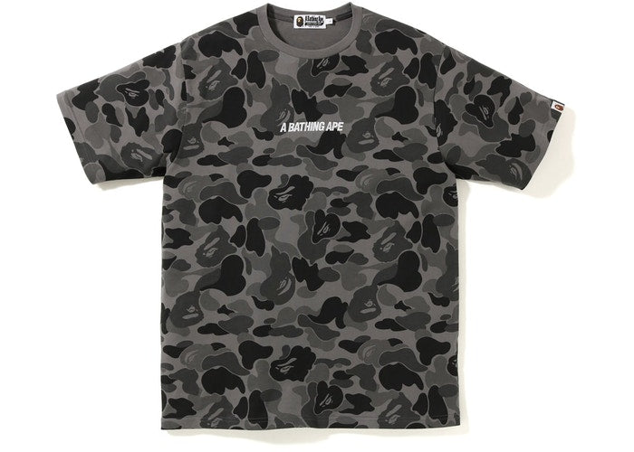 BAPE ABC Wide A Bathing Ape Tee - Black