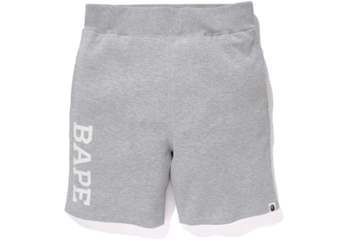 BAPE Summer Bag Sweat Shorts Grey
