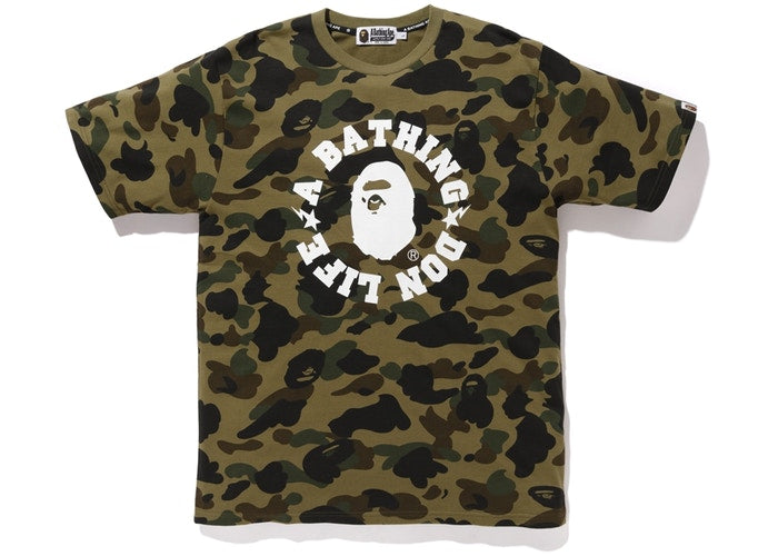 Bape x Big Sean 1st Camo Don Life Tee Green