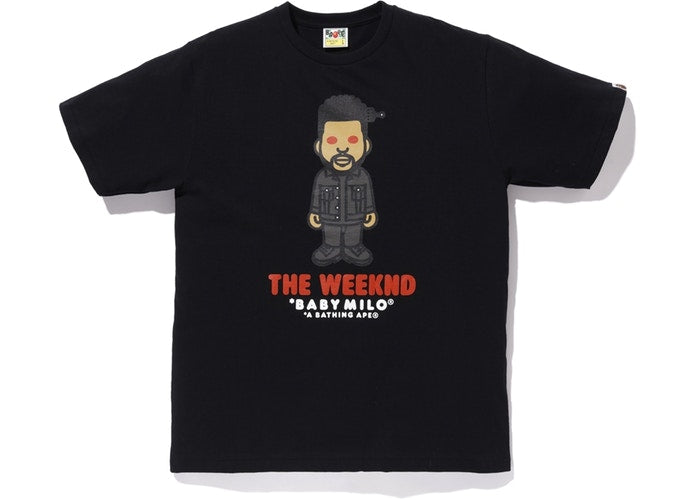 BAPE x XO The Weeknd Tee Black