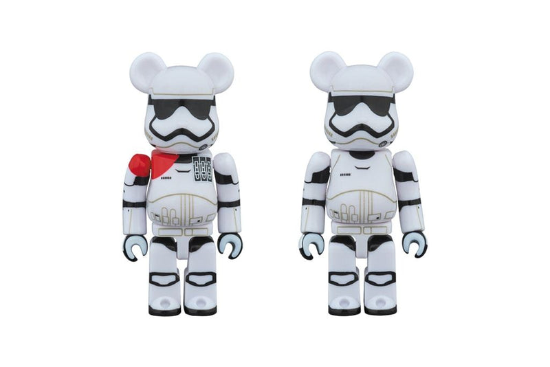 "BEARBRICK X STAR WARS ""OFFICER & STORMTROOPER"" 100%"