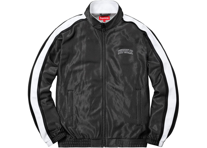 SUPREME BONDED MESH JACKET BLACK