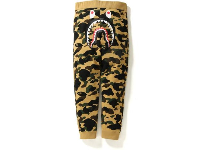 Bape 1st Camo Shark Sweatpants