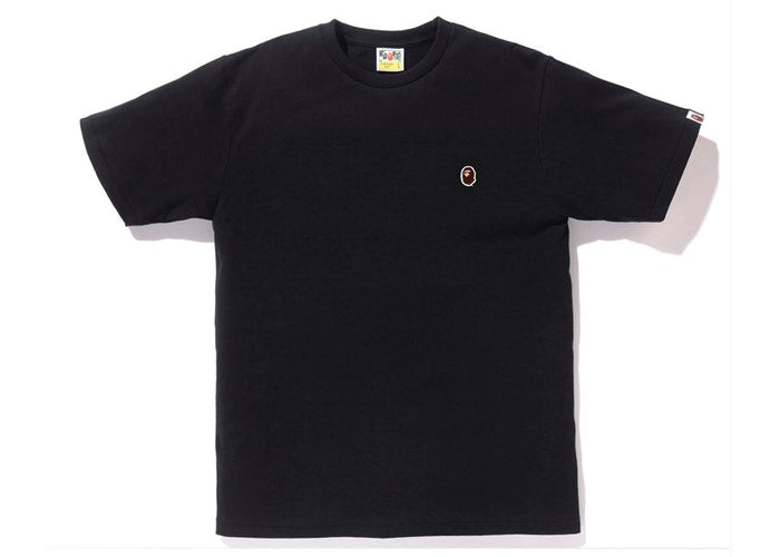 Bape One Point Head Tee -Black