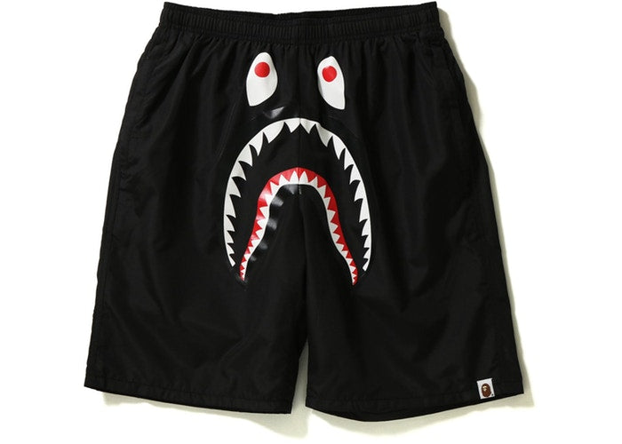 Bape Shark Beach PONR Shorts -Black