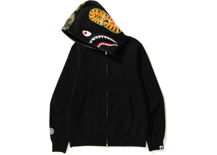 Bape Full Zip Up Shark Hoodie