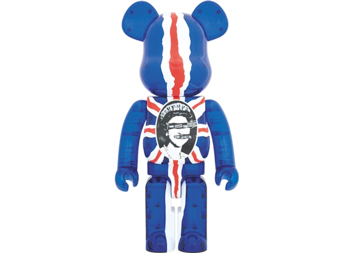 Bearbrick x Sex Pistols God Save The Queen Version 1000%