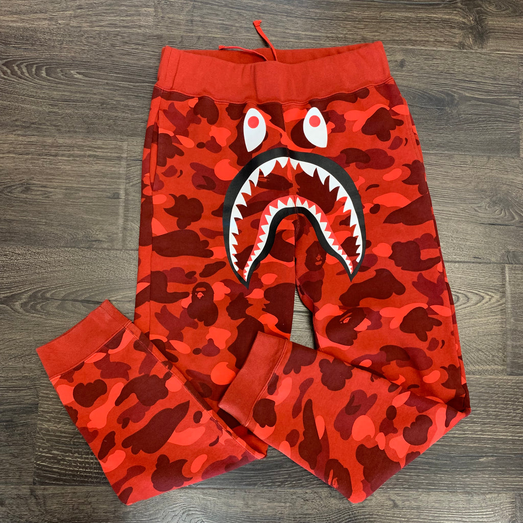 Bape Shark Head Slim Sweatpants