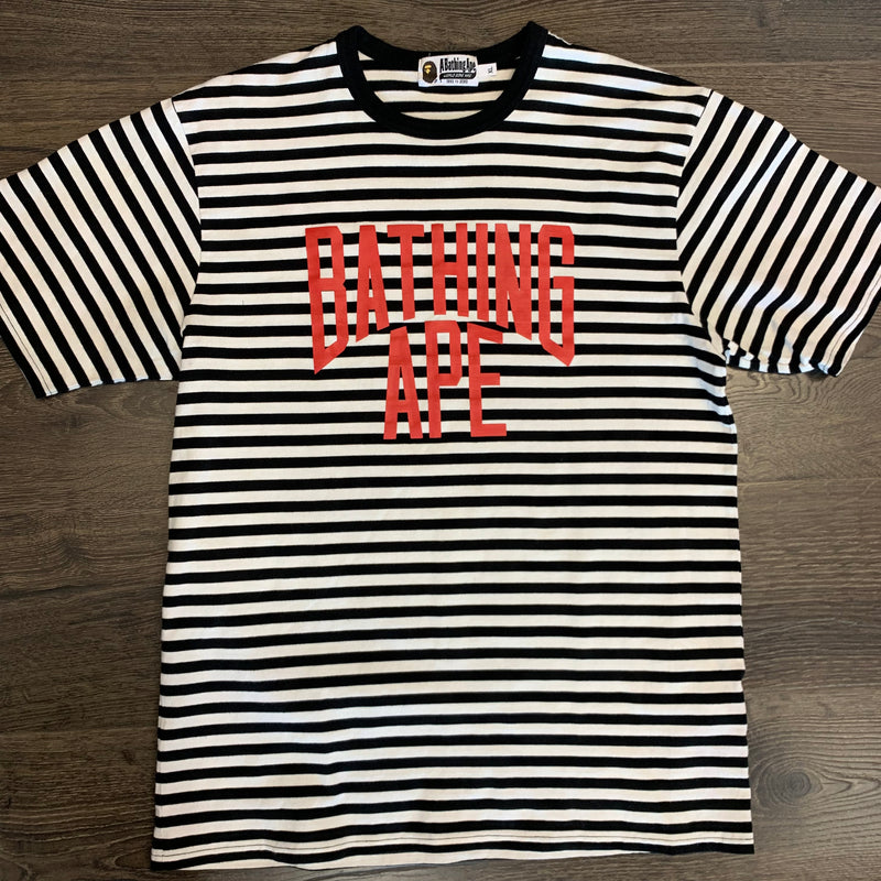 Bape Striped Tee