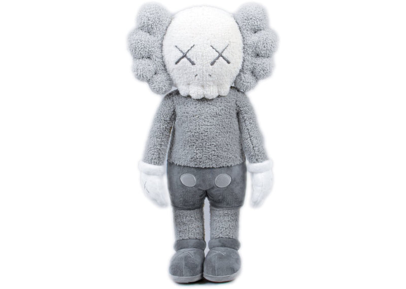 "KAWS HOLIDAY Hong Kong Limited 20"" Plush - Grey"
