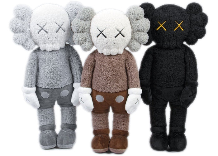 "KAWS HOLIDAY Hong Kong Limited 20"" Plush Set Multi Special Box"
