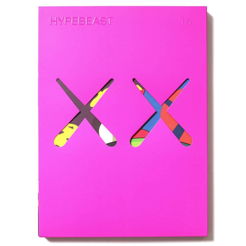Kaws Hypebeact Issue 16 The Projection Re-release Magazine -Pink