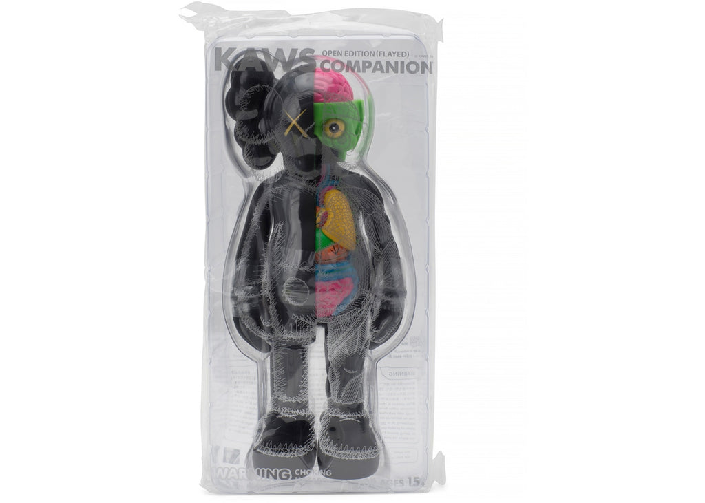 KAWS Companion Flayed Open Edition Vinyl Figure - Black