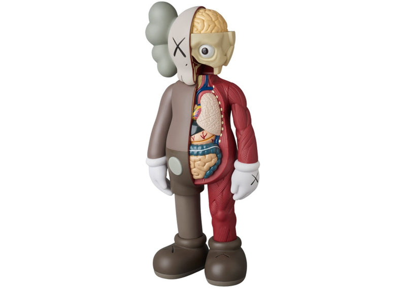 KAWS Companion Flayed Open Edition Vinyl Figure -Brown