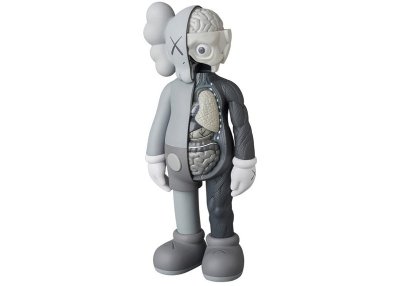 KAWS Companion Flayed Open Edition Vinyl Figure - Grey