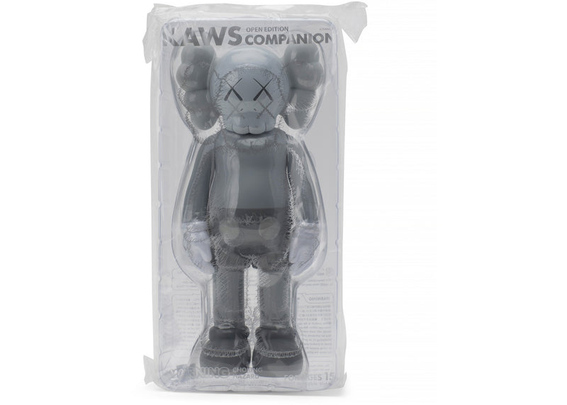 KAWS Companion Open Edition Vinyl Figure  -Grey
