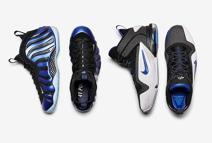 "NIKE AIR PENNY 6 /  FOAMPOSITE ONE ""SHARPIE PACK"""