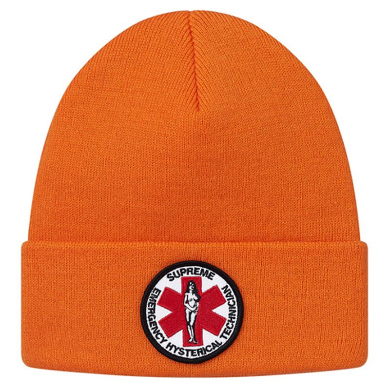 Supreme Hysteric Glamour Beanie Orange