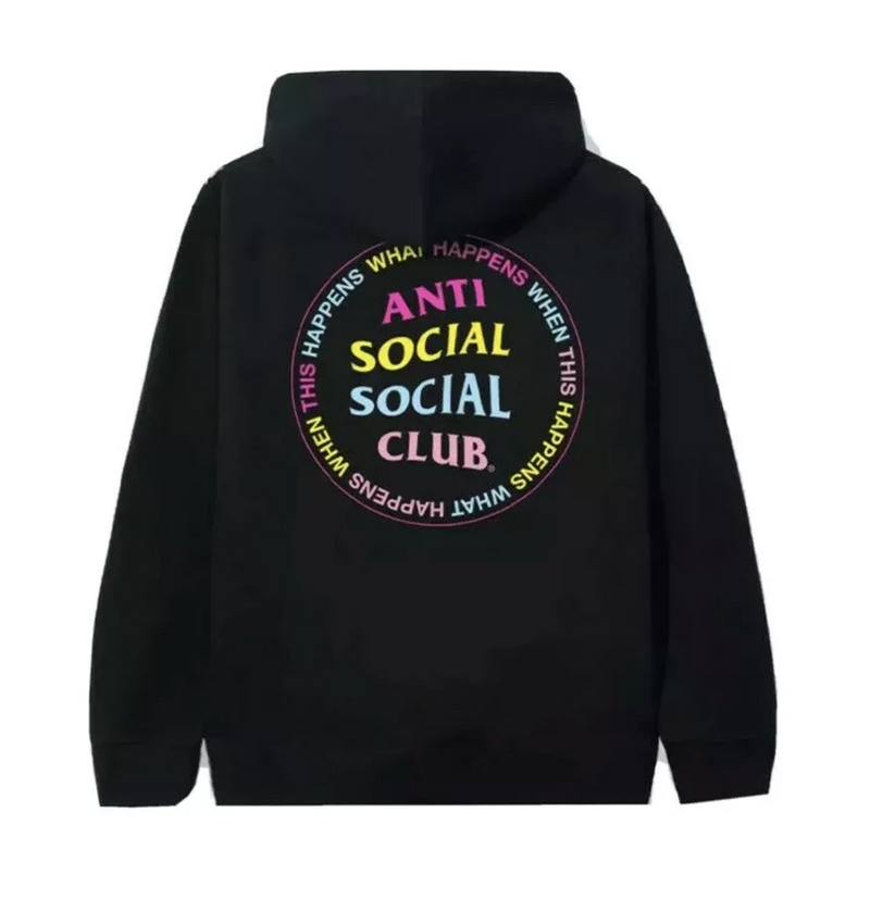 Anti Social Social Club Members Only What Happened Hoodie