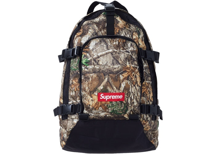 Supreme Backpack (FW19) - Tree Camo