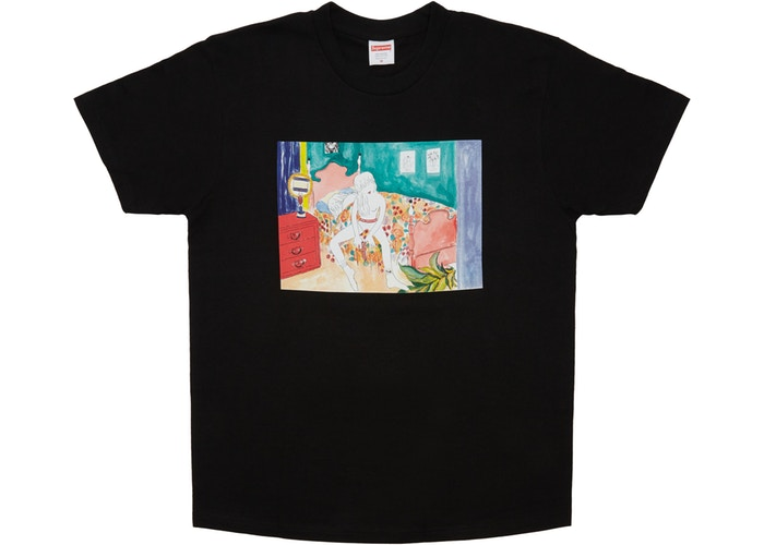 Supreme Bedroom Tee Black