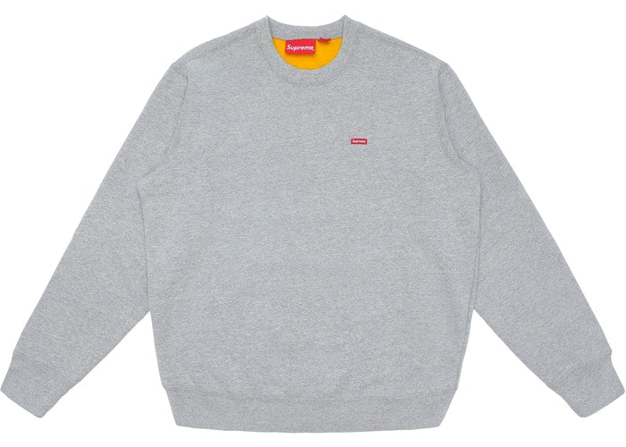 Supreme Contrast Crewneck Heather -SS18