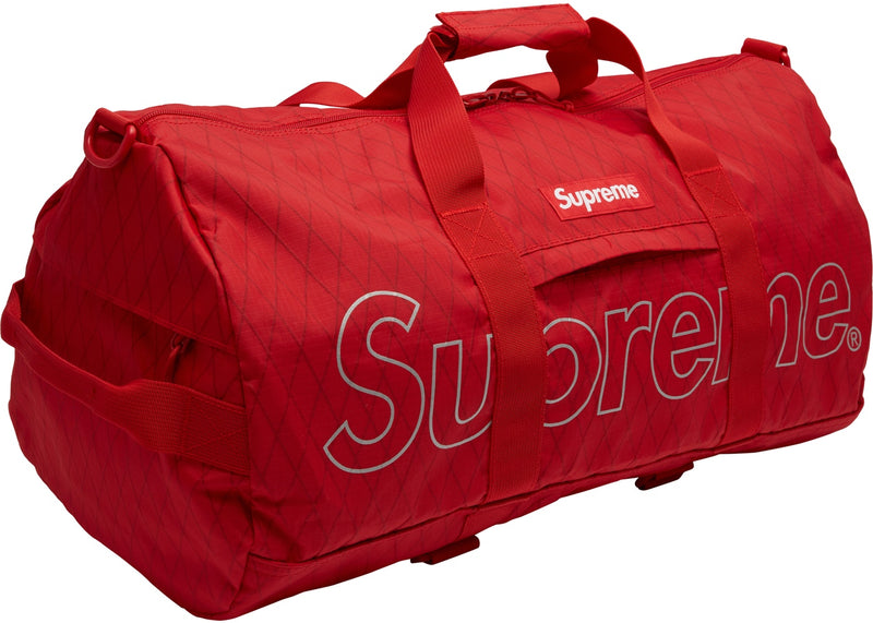 Supreme Duffle Bag F/W18 -RED-