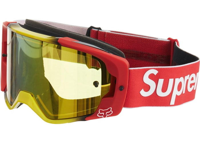 Supreme Honda Fox Racing Vue Goggles Red