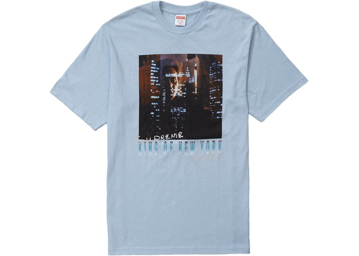 Supreme King of New York Tee Light Blue
