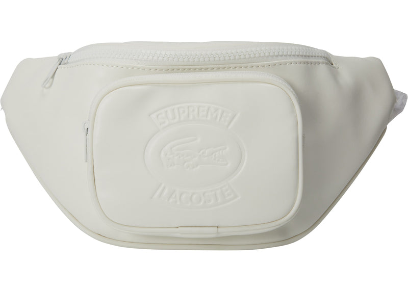 Supreme LACOSTE Waist Bag White