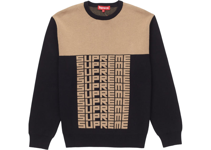 "Supreme Crewneck ""Logo Repeat"""