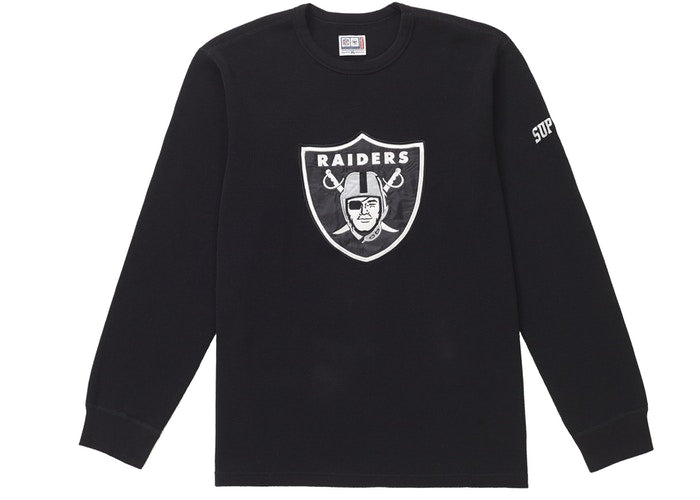 Supreme NFL x Raiders x '47 Thermal - Black