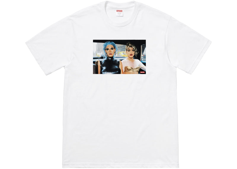 Supreme Nan Goldin Misty and Jimmy Paulette Tee White