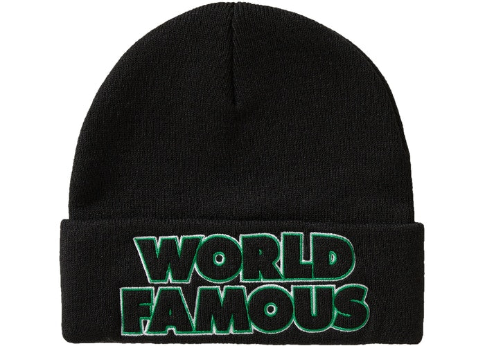 Supreme Outline Beanie (FW19)- Black