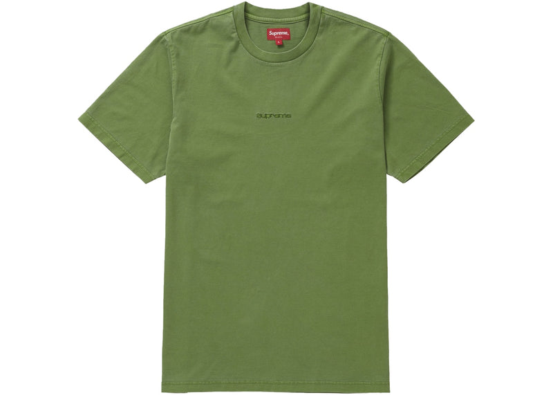 Supreme Overdyed Tee (ss19) - Green