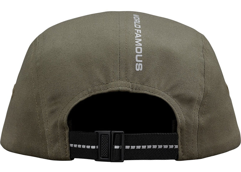 Supreme Reflective Tab Pocket Camp Cap Olive