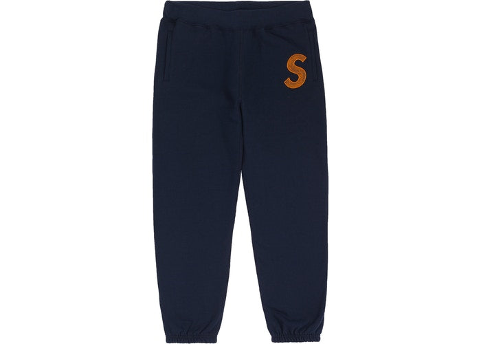 Supreme S Logo Sweatpants Navy