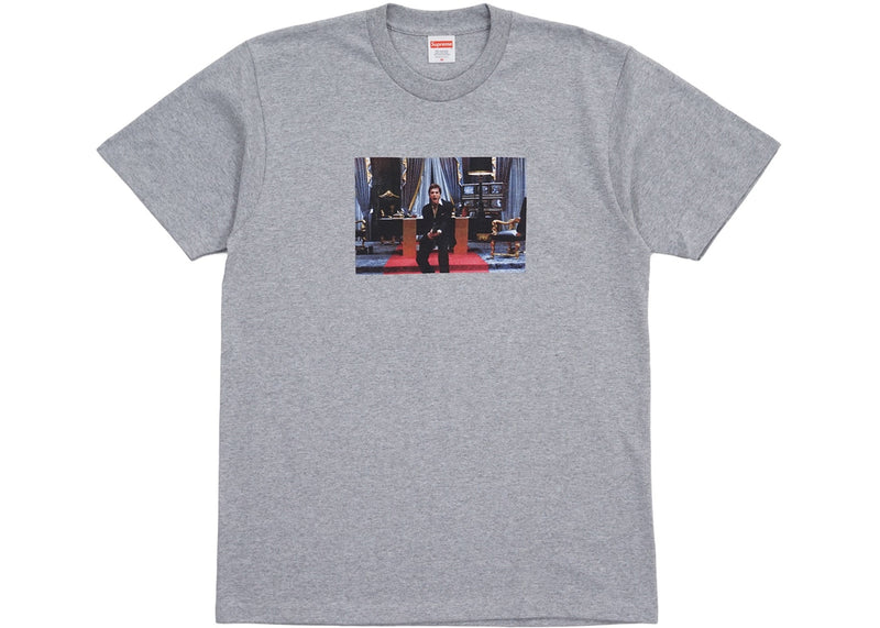 Supreme Scarface Friend Tee Heather Grey
