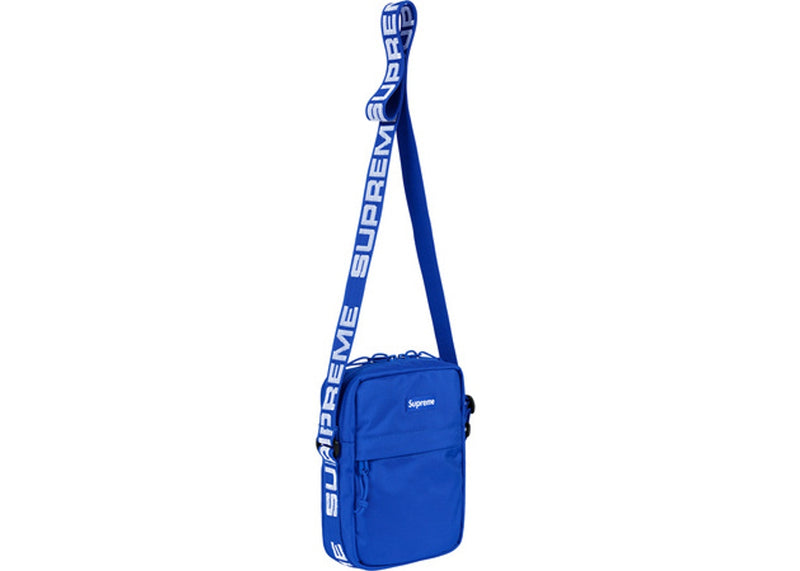SUPREME SHOULDER BAG (SS18) BLUE