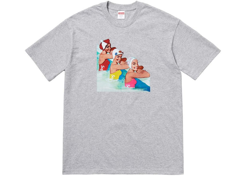 Supreme Swimmers Tee -Heather Grey-