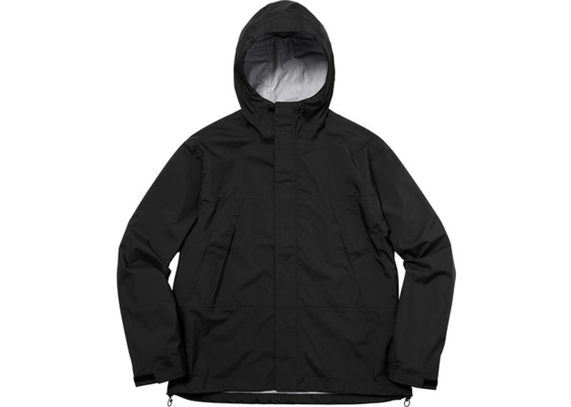 SUPREME TAPED SEAM JACKET BLACK
